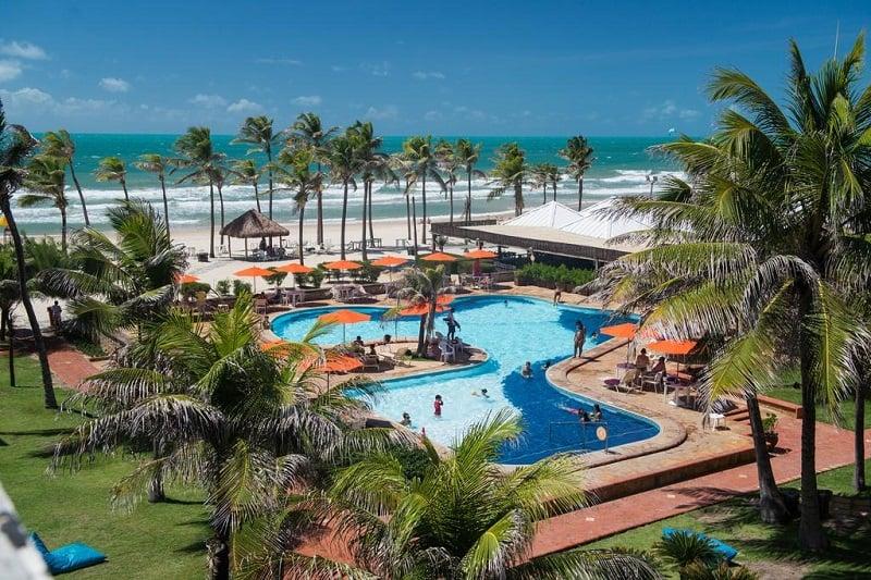 Hotéis resorts do Beach Park em Fortaleza