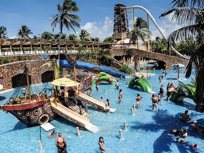 Calendário de funcionamento do Beach Park em Fortaleza