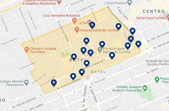 Ficar hospedado no Batel em Curitiba