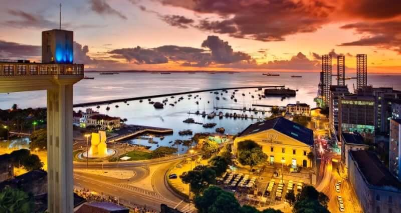 Pontos turísticos em Salvador