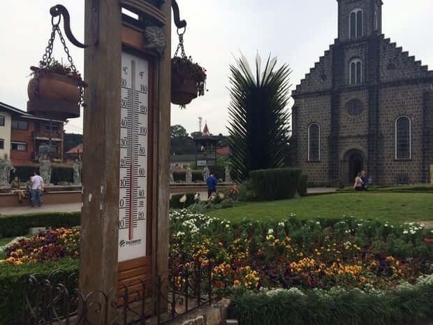 Clima e temperatura em Gramado