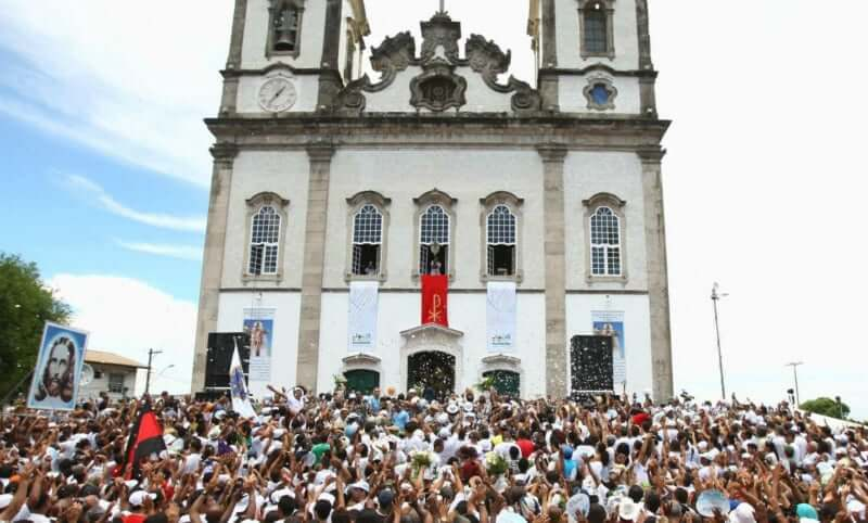 Festa da Lavagem do Bonfim em Salvador: