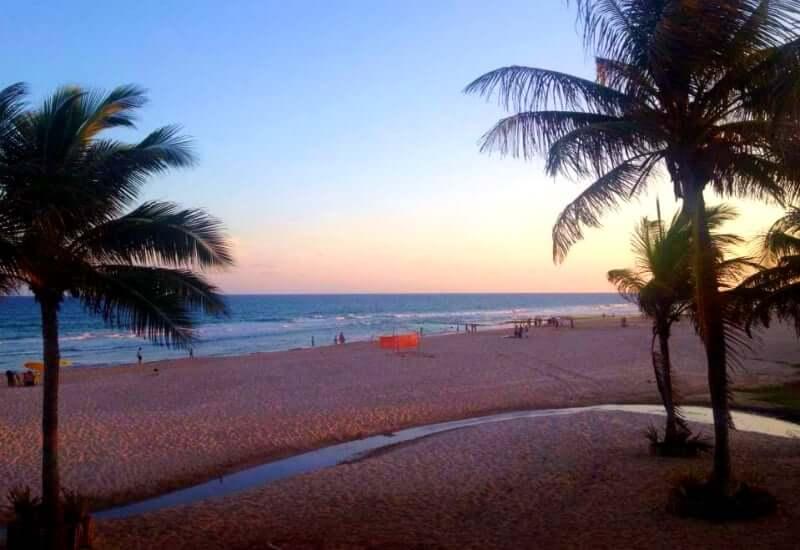 Praia de Amaralina em Salvador