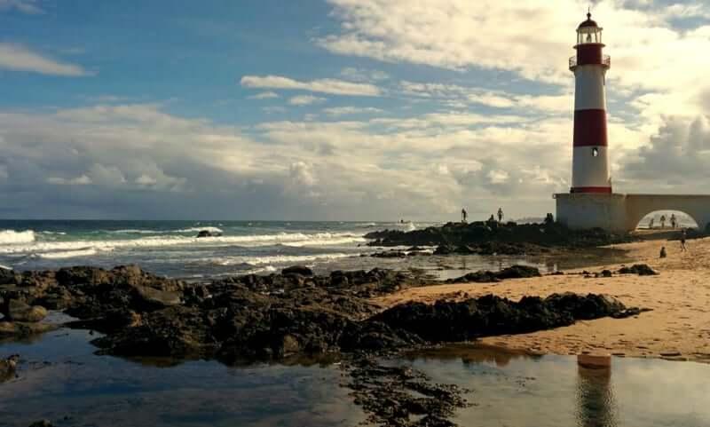 Praia de Itapuã em Salvador