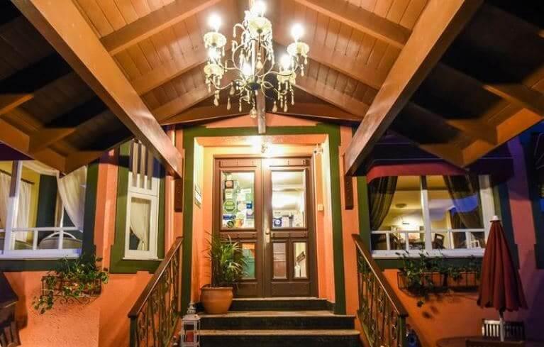 Hotéis no centro turístico de Gramado