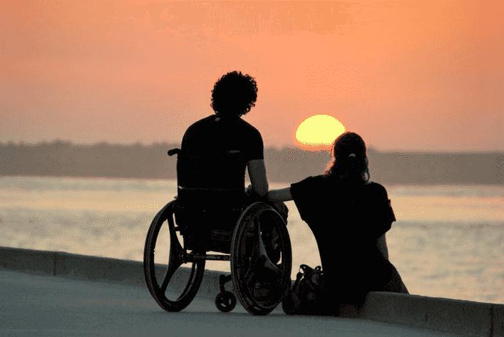 Deficientes físicos em Gramado