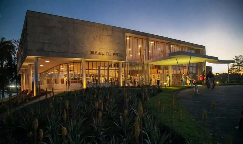 Museu de Arte Moderna da Pampulha em Belo Horizonte