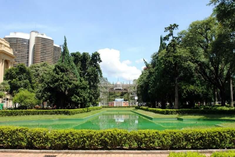 Praça da Liberdade em Belo Horizonte: