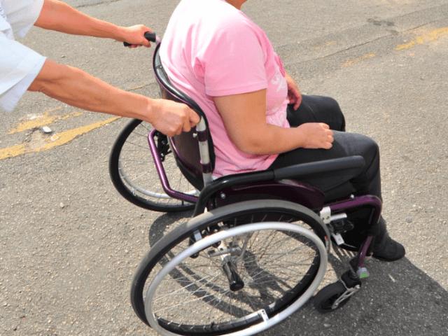 Deficientes físicos em Blumenau