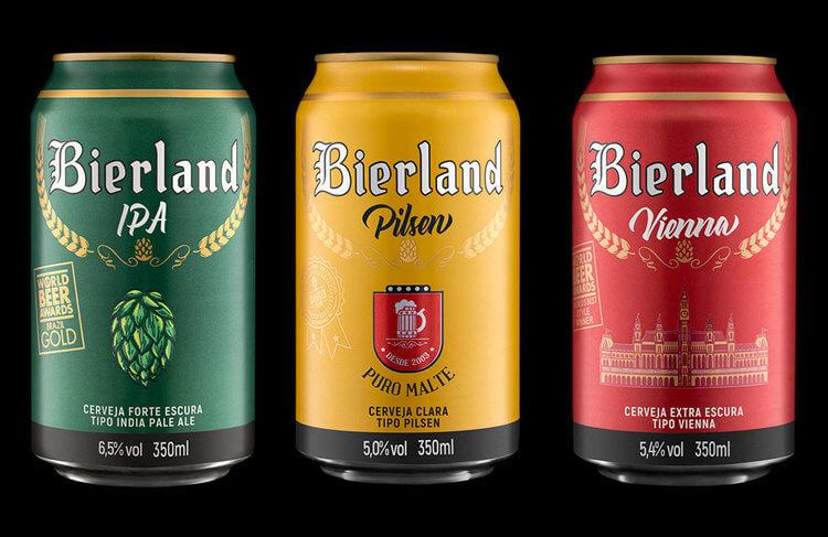 Cervejaria Bierland em Blumenau: Cervejas