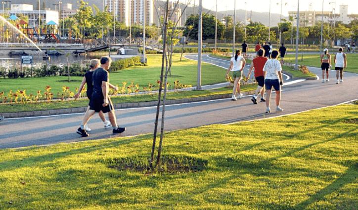 Parque Ramiro Ruediger em Blumenau: Caminhada