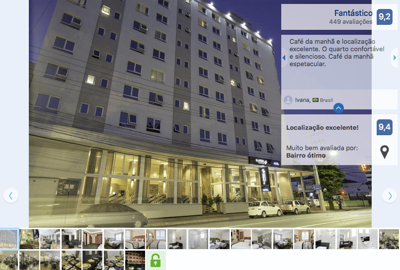 Hotéis de luxo em Blumenau: Hotel Slaviero Essential Blumenau
