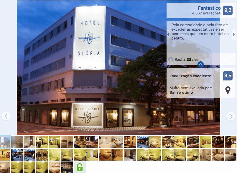 Hotéis de luxo em Blumenau: Hotel Glória