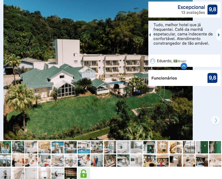 Hotéis de luxo em Blumenau: Villa do Vale Boutique Hotel & Bistro