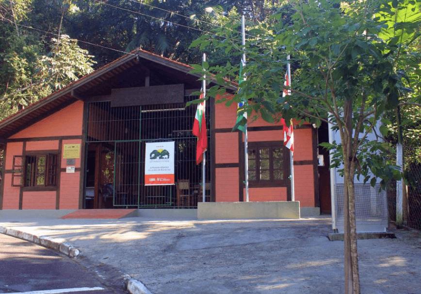 Parque São Francisco de Assis em Blumenau:Entrada