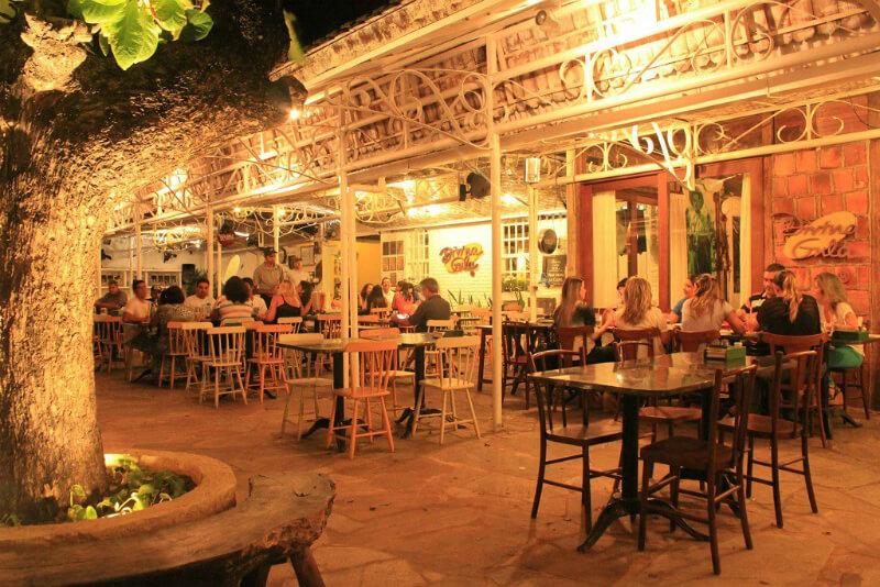 Restaurante Divina Gula próximo da praia de Jatiúca em Maceió