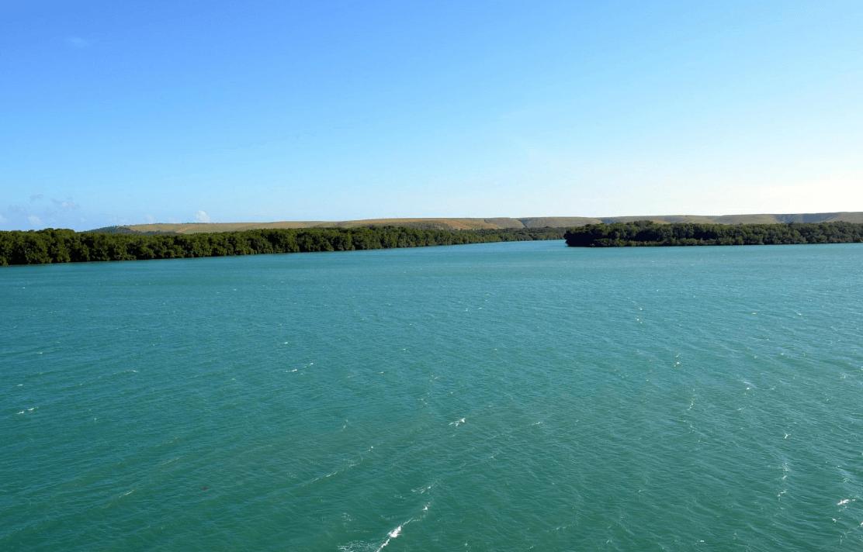 Lagoa do Roteiro na praia do Gunga em Maceió