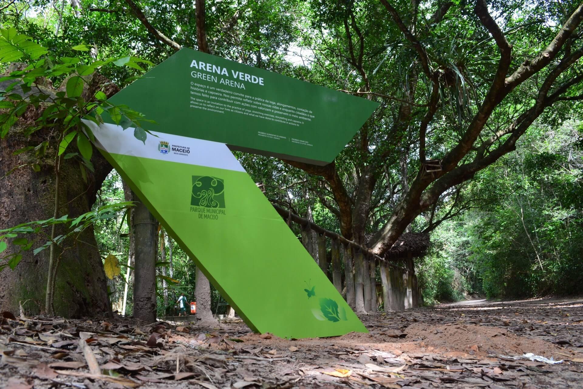 Inúmeras atividades no Parque Municipal de Maceió
