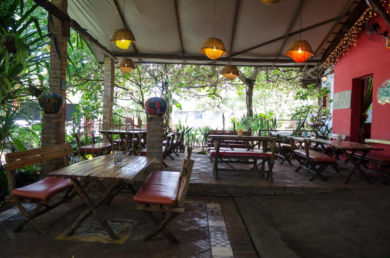 Restaurante SantOrégano próximo à praia da Sereia em Maceió