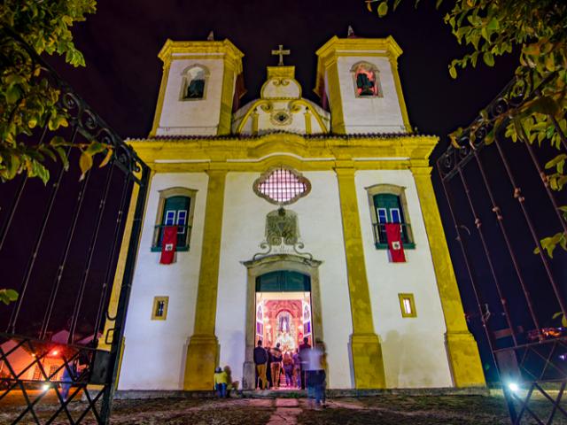 O que fazer à noite em Ouro Preto