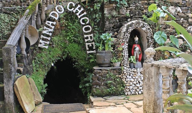 Mina do Chico Rei em Ouro Preto