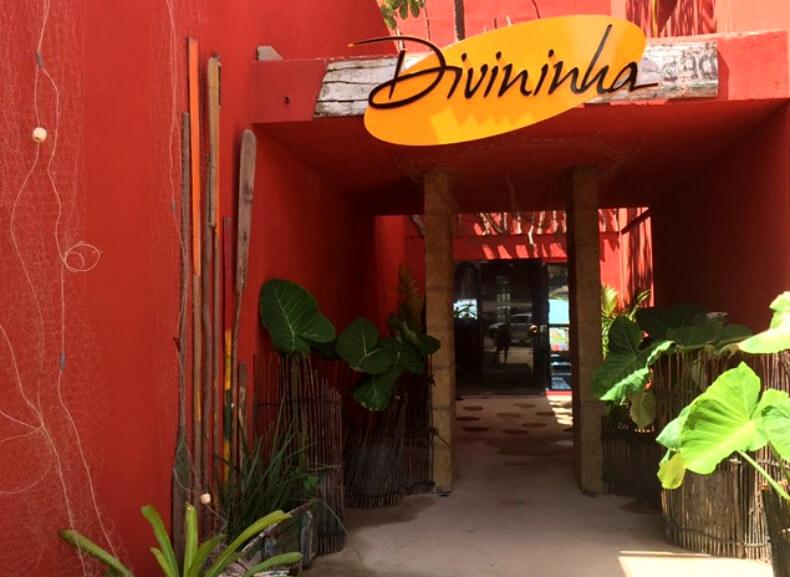 Restaurante Divininha na praia de Riacho Doce em Maceió