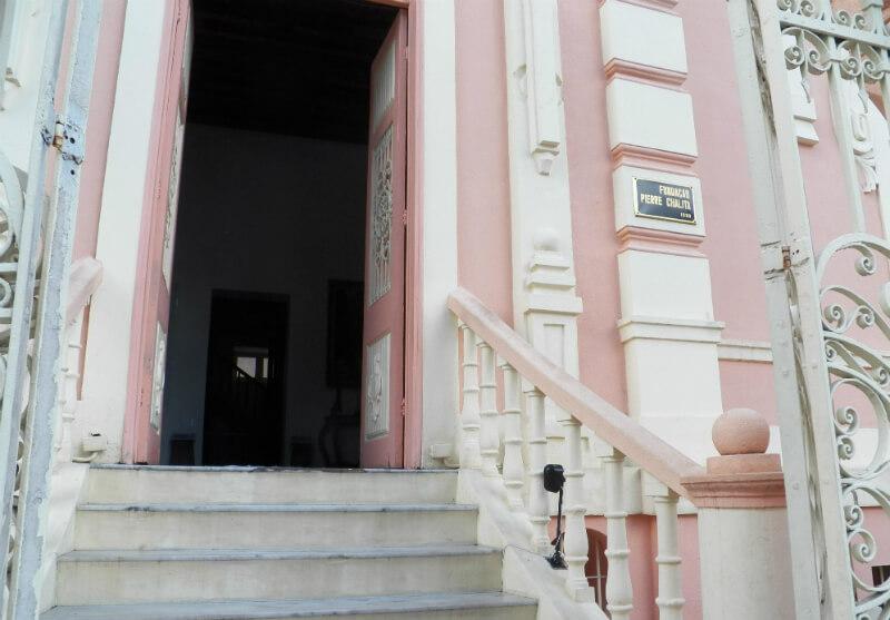 Entrada do Museu Pierre Chalita em Maceió