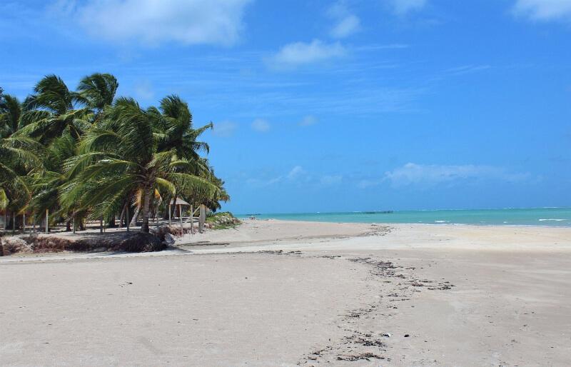 Praia Xaréu próximo a Maragogi em Maceió