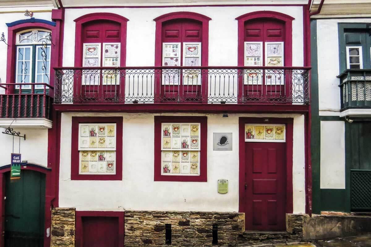 Museu Casa Guignard em Ouro Preto