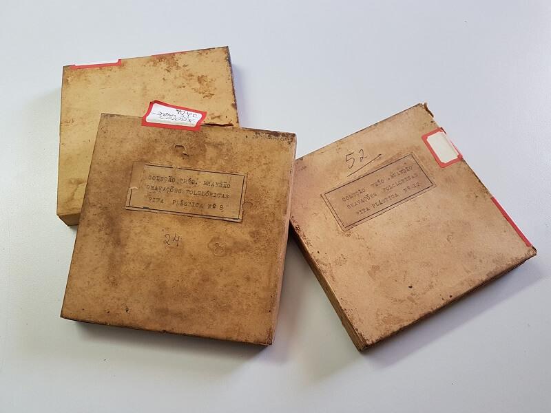 Documentos expostos no Museu Théo Brandão de Antropologia e Folclore em Maceió