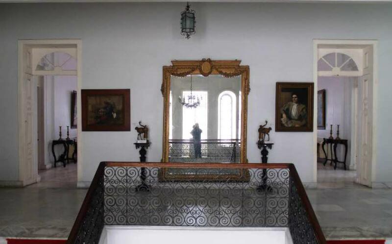 Hall do Museu Palácio Floriano Peixoto em Maceió