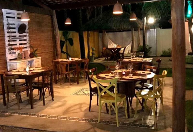 Restaurante Patrícia Bistrô em São Miguel dos Milagres em Maceió