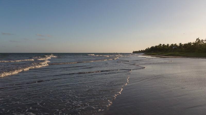 Entardecer na praia de São Miguel dos Milagres em Maceió