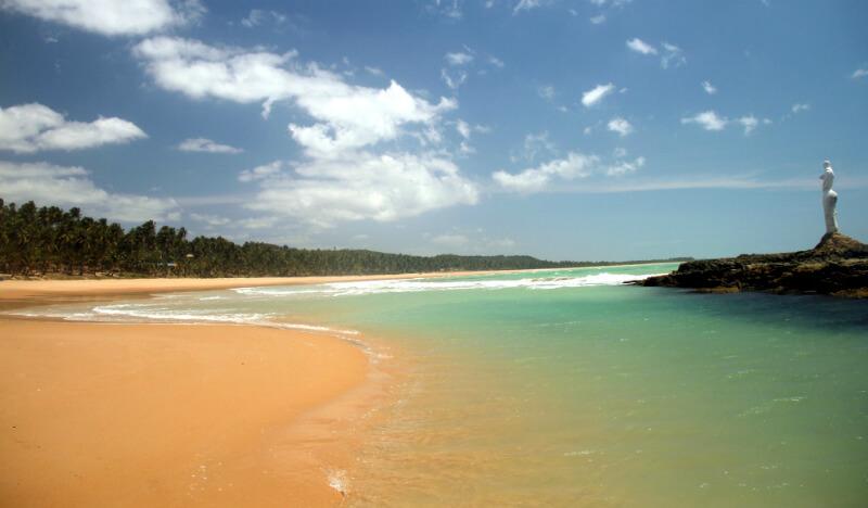 Praia da Sereia ao lado da praia Pratagy em Maceió