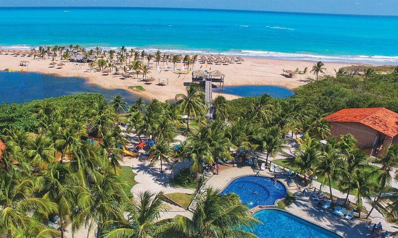 Pratagy Beach Resort na praia Pratagy em Maceió