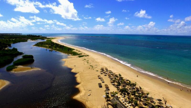Praia Pratagy em Maceió