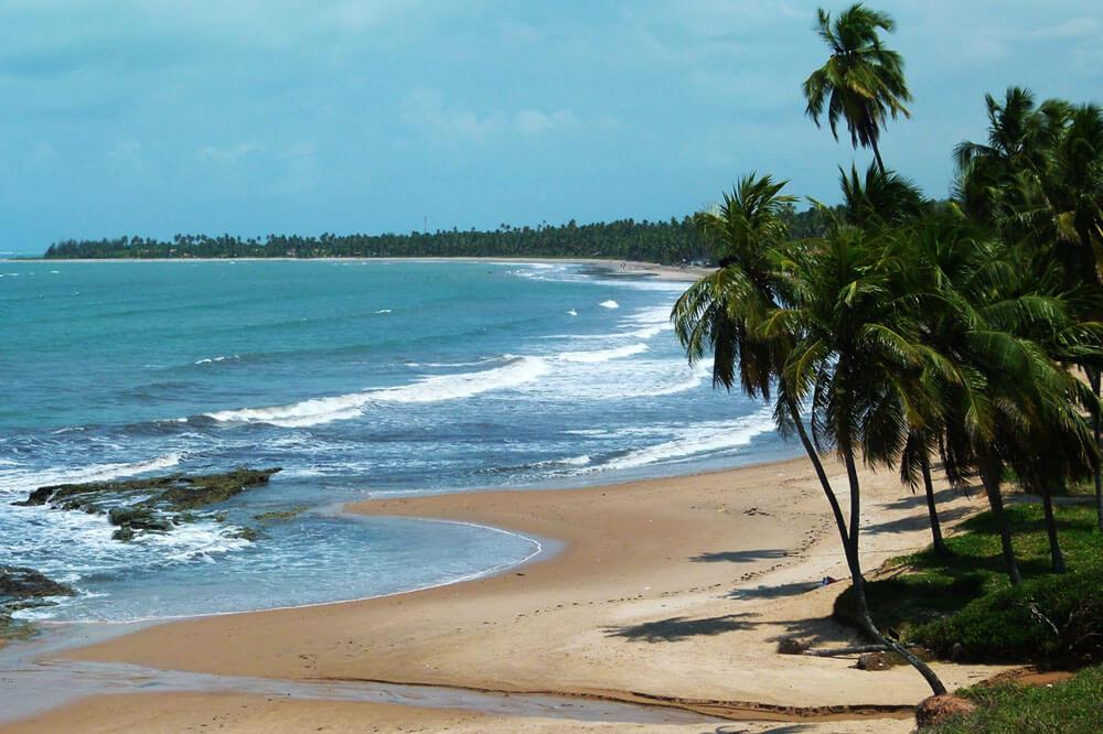Japaratinga, um dos municípios da Rota Ecológica da Costa dos Corais em Maceió
