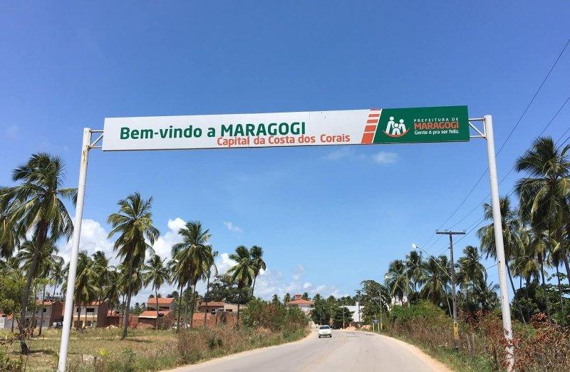 Maragogi, um dos municípios da Rota Ecológica da Costa dos Corais em Maceió