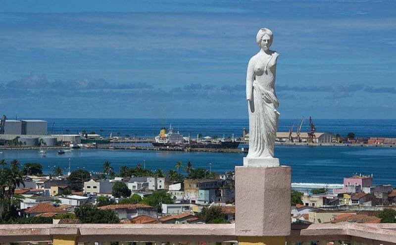 Estátua do Mirante São Gonçalo em Maceió