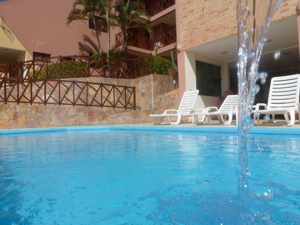 Hotéis no centro turístico de Natal: Piscina do Apart Hotel Vale do Sul
