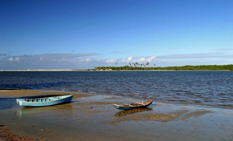 Passeios românticos em Natal: Barra de Cunhaú