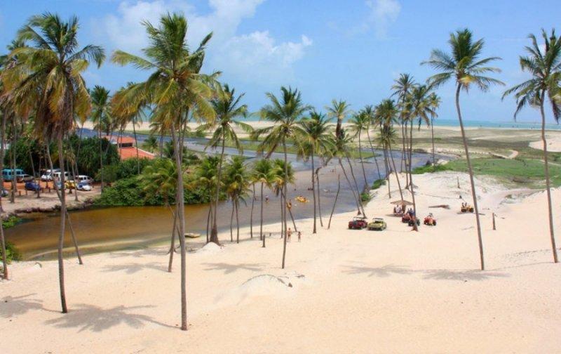Lua de mel em Natal: Barra do Punaú