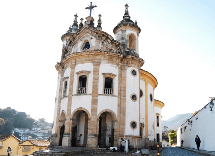 Igreja de Nossa Senhora do Rosário em Ouro Preto