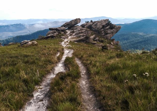 Parque Estadual do Itacolomi em Ouro Preto