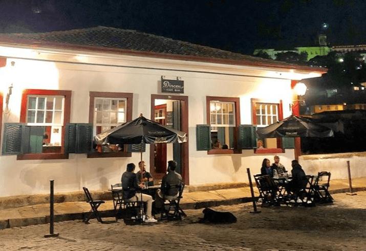 Dirceu Café Bar em Ouro Preto