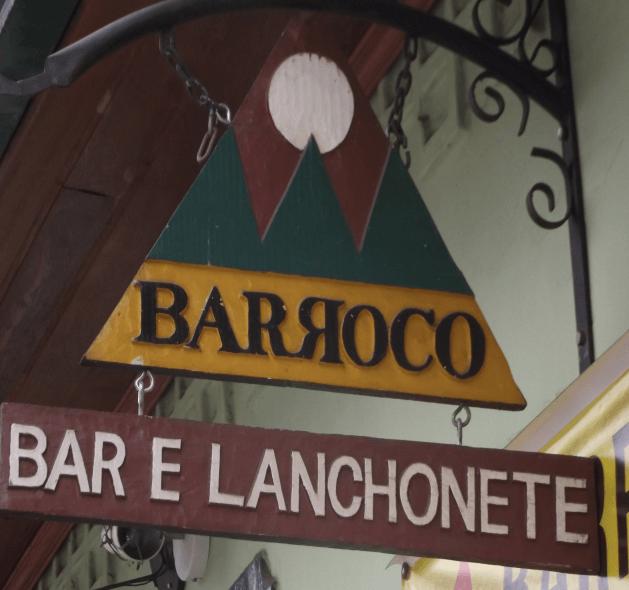 Bar Barroco em Ouro Preto
