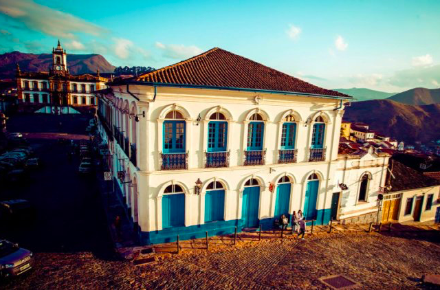 Hotéis no centro turístico de Ouro Preto