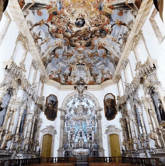 Resultado de imagem para igreja de sao francisco ouro preto