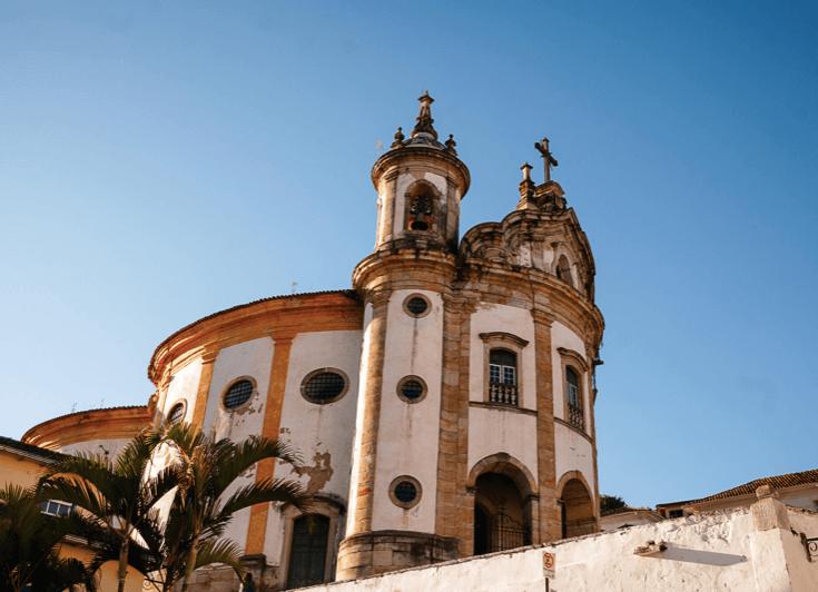 Igreja de Nossa Senhora do Rosário dos Pretos em Ouro Preto