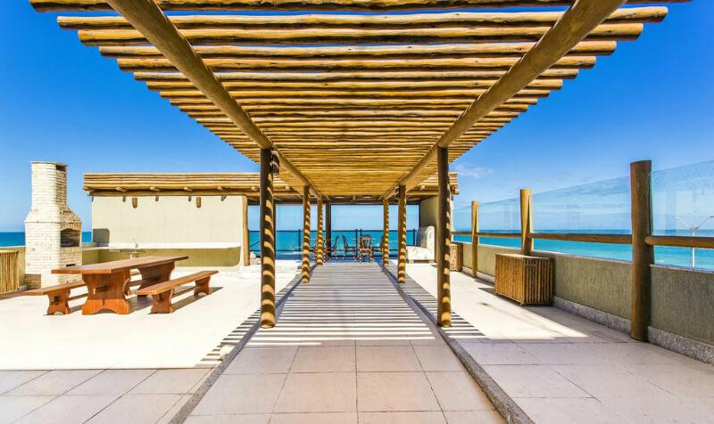 Hotéis no centro turístico de Natal: Área de lazer do Porto Suítes Natal Hotel